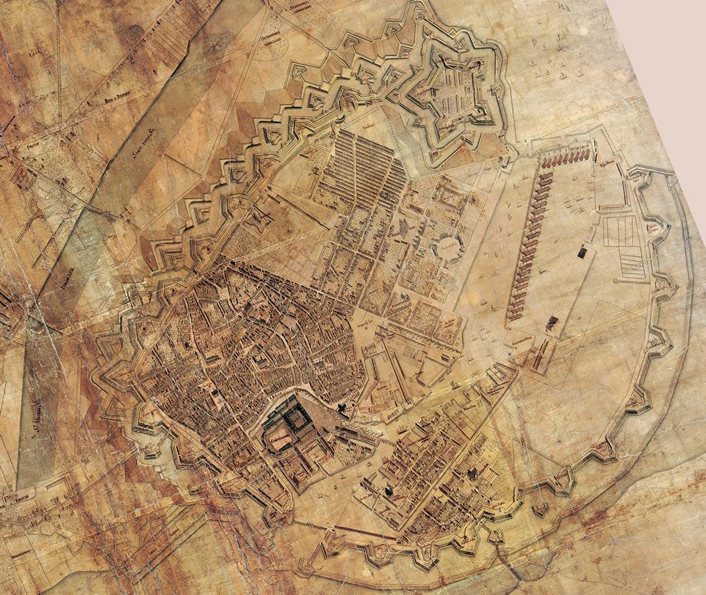 1 1 Byen Pa Kortet Enevaeldens Kobenhavn Historie Og Byvandringer
